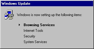 Windows Update Dialog